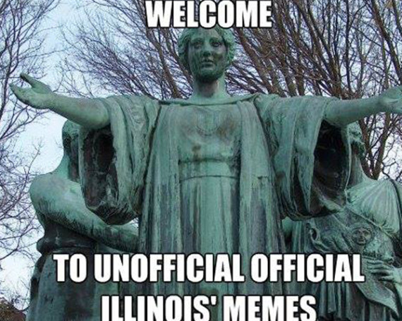 University of Illinois' Memes